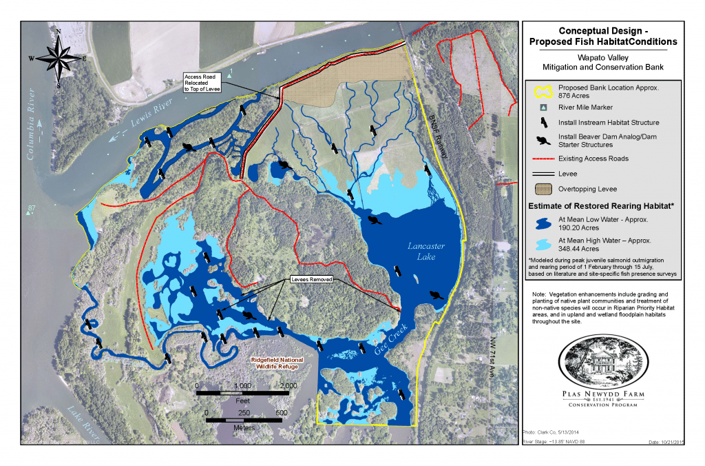 Proposed Fish Habitat
