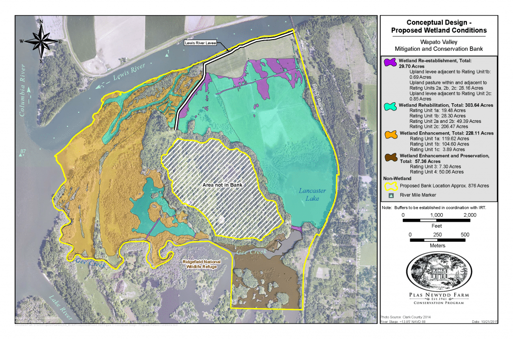 Proposed Wetlands