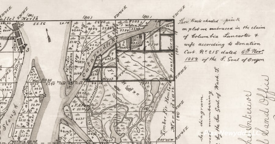 Cadastral Survey_Surveyor Generals Office_Gardner 1854_ cropped