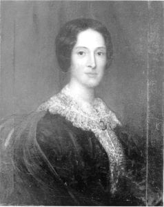 Rosannah Lancaster painting 1855, credit to Oregon Historical Society